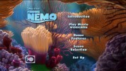 Finding Nemo - Disc 1 Main Menu -- click for larger view