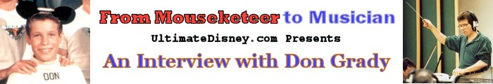 From Mouseketeer to Musician: UltimateDisney.com Presents An Interview with Don Grady