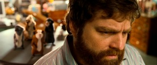 "Based on his fine dramatic work as TV's ""The Snuggler"", actor Tairy Greene (a.k.a. Zach Galifianakis) is the perfect choice to play straight man to rodents."