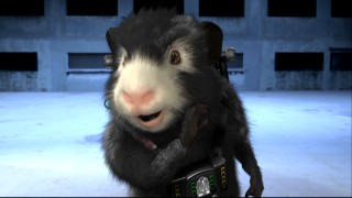 "Tracy Morgan's guinea pig tells us all about G-Force gadgets in ""Blaster's Boot Camp."""