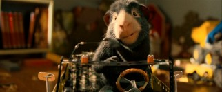 "Not since ""The Mouse and the Motorcycle"" have we seen such a fine display of rodent driving as Blaster (Tracy Morgan) on his temporary owner's remote control car."