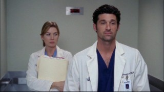Meredith has a brief, recent romantic history with her supervisor, Dr. Derek Shepherd (Patrick Dempsey).