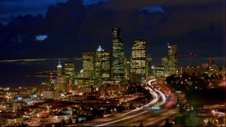 Time-lapse photography like this goes a little way to establish the city of Seattle as the show's setting.