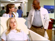"Meredith meets the hospital's Chief of Medicine (James Pickens, Jr.) in this deleted scene found in ""Anatomy of a Pilot."""
