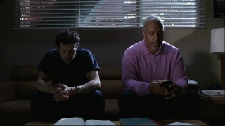 Webber confesses his sins. Hey, when did Derek become a priest?