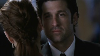 Oh, how sweet. Derek's dancing with Addison at the prom... but guess who he's looking at?