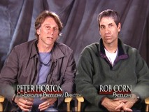 "Peter Horton and Rob ""Bossy McBossy"" Corn are two of the important ""Grey's"" people you don't see in front of the camera, so it's nice to see them given their due on the DVD."