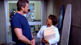 It matters not how tall you are; everyone must succumb to the wrath of Miranda Bailey (Chandra Wilson).