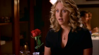 Dr. Erica Hahn (Brooke Smith) enjoys a nice lesbian dinner date before disappearing six episodes into the season.