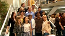 "The cast and crew of ""Grey's Anatomy"" gather to celebrate 100 episodes of hospital drama!"