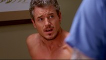 As he is known to, Dr. McSteamy (Eric Dane) goes shirtless in this deleted scene.