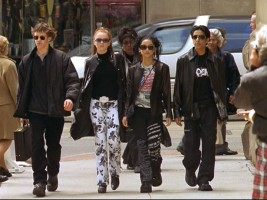 This is how spy kids dress in New York City...we're told.