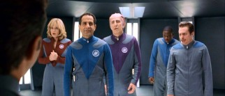 """That was a hell of a thing,"" proclaims tech sergeant portrayer Fred Kwan (Tony Shalhoub) about his trip to the Thermian star port. His former castmates are far less at ease with it."