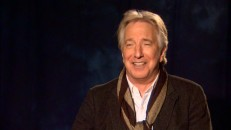 Missing from the film and the previous DVD's bonus features, Alan Rickman's scalp gets seen in all its glory in his new supplement interviews.