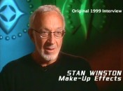 Late make-up effects artist Stan Winston is heard in one of the DVD's many excerpts taken from during the 1999 production.