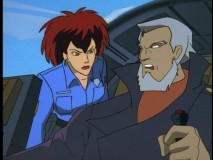 That police officer looks a bit like Demona, don't ya think?