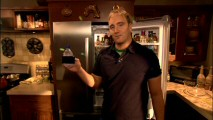 Jay Mohr couldn't possibly be talking about Dasani water on his Tuesday set tour. Well, he could be, but the label and his brand name mention get censored.