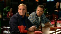 Gary is surprised to learn the one bar patron he's bonded with (David Denman) is his girlfriend's ex-husband.