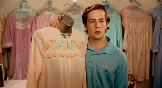 Teen protagonist Benjamin Purvis (Michael Angarano) has written many a fantasy story, but he still has to work selling his mother's dresses.
