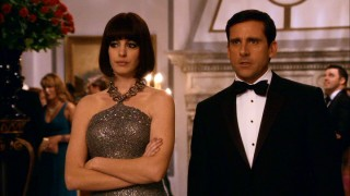 Agent 99 (Anne Hathaway) and Max (Steve Carell) crash the party of a Russian suspect.