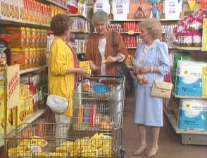 The colorful '80s food shopping experience.