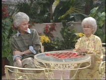 "Dorothy and her mother play a little chess in ""Nice and Easy."""