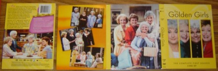 The Golden Girls: Season One's packaging.