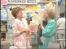 "Blanche and Rose's first encounter in ""The Way We Met."""
