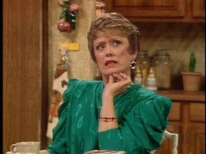 Blanche Devereaux recalling her French.