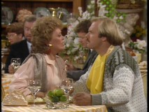 Blanche on a date of sorts with Rose's cousin Sven (guest star Casey Sander).