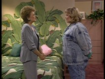 Blanche's daughter is a little bigger than she remembered.