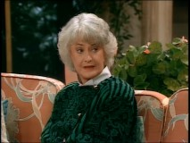 Some of Bea Arthur's best moments aren't even verbal.