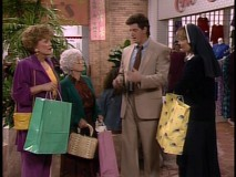 "Blanche and Sophia don't have a lot of scenes together but here, they get swindled in a mall by guest stars Sam McMurray (""Dinosaurs"") and Nancy Lenehan."