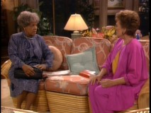 "Blanche's old nursemaid (Ruby Dee) confronts her with a dark secret from her past in ""Wham Bam Thank You, Mammy."""