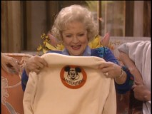 Rose gets Roy's Mickey Mouse Club sweater for her birthday.