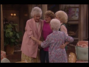 The Golden Girls say goodbye. And, one last time, thank you for being a friend!