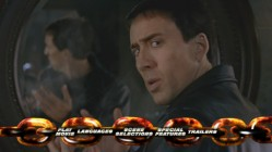 Ghost Rider's 16x9 main menu kicks off with a little animation before cycling through quick movie clips such as these.