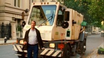 "Though it looks like Alan Ruck is about to be run over by this Manhattan street sweeper, ""Ghostly Effects"" shows us how this Ghost Dad is truly safe."