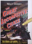 The Great Locomotive Chase movie poster
