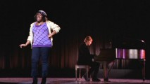 "The entire one-take performance of Mercedes' (Amber Riley) ""Respect"" glee club audition is presented on the DVD."