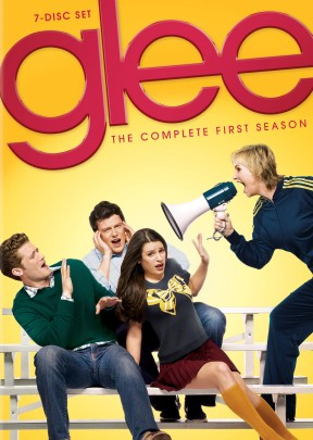 Glee: The Complete First Season DVD cover art - buy from Amazon.com