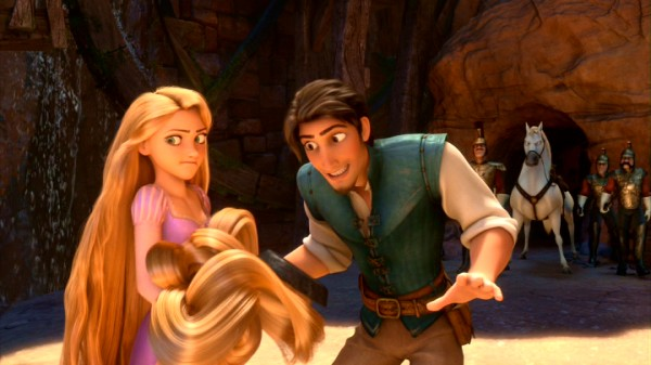 """Tangled"" follows Rapunzel and Flynn Rider out the tower for some high-spirited adventure."