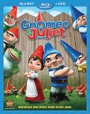 Gnomeo & Juliet: Blu-ray + DVD combo pack cover art -- click to buy from Amazon.com