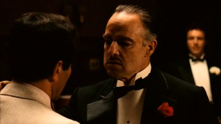 Marlon Brando brings to life one of cinema's most iconic creations in Don Vito Corleone, also known as The Godfather.