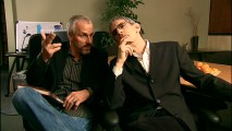 Seth Isler and Law & Order star Richard Belzer trade Godfather lines and impressions in one of the four new short films.
