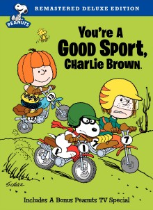 You Re A Good Sport Charlie Brown Dvd Review Remastered