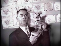 Pinto Colvig, long the voice of Goofy.