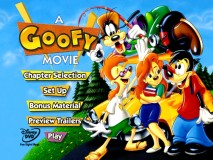 """A Goofy Movie""'s Main Menu is extremely simple."