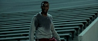 Derek Luke works up a sweat as Bobby Joe Hill, one of the only Miners who makes an impression on the viewer.