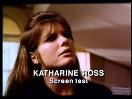 "Footage from Katharine Ross' screen test appears in ""The Graduate at 25"", one of two laserdisc featurettes that resurface here."